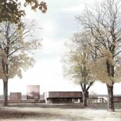 (c) image RCR arquitectes - musee Soulages BD